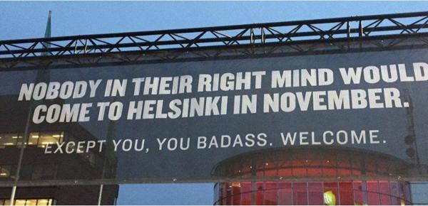 Ты избранный! хельсинки, путешествия, badass