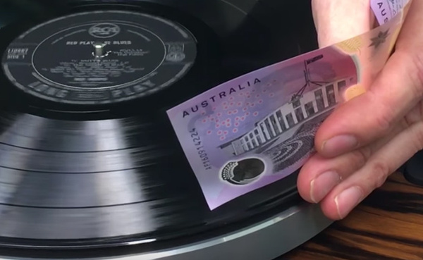Музыкальная купюра Трюки для вечеринок, Музыка, Пластинка, Австралия, Гифка, Видео