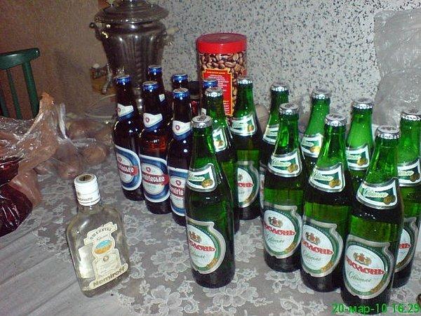 Алкогольный взвод Фото, Бутылка, моё, юмор