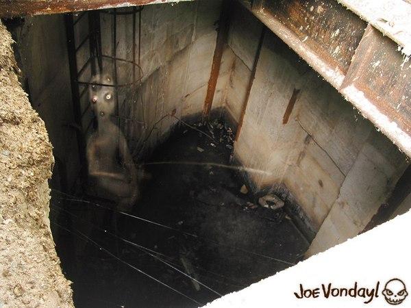 Клюёт? крипота, рыбалка, заброшенное, не здесь, сталкер, призрак, моё, Joe Vondayl