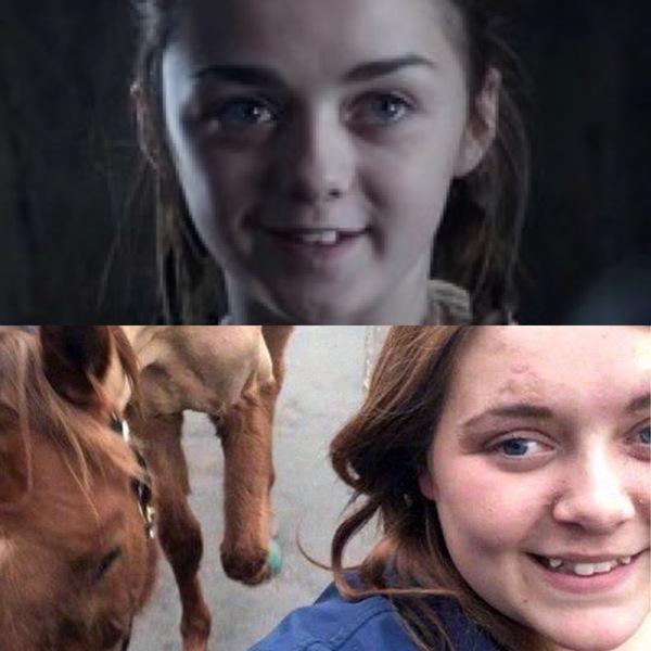До того как объела лошадь и после... Арийа, Навеяно постом, Кушать любит