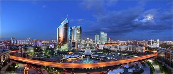 Лас-Вегас? Нет, это Астана Казахстан, Лас-Вегас, красота, город, длиннопост