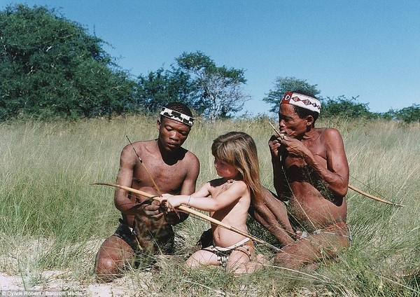 Африка нудисты
