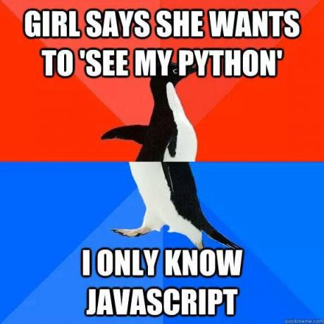 Когда не понимаешь о чем речь. JavaScript, Картинка с текстом, 9gag, Перевел сам, Кривой перевод