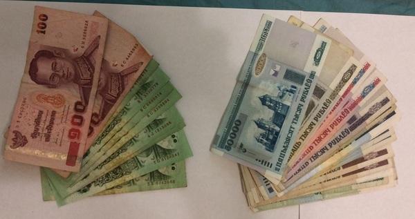 Валюта из разных стран, которую пока не удалось потратить. Деньги, Страны, Мир, Командировка, Авиация, Длиннопост