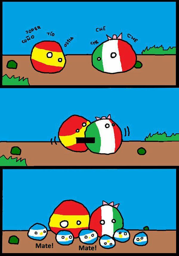 История создания Аргентины
