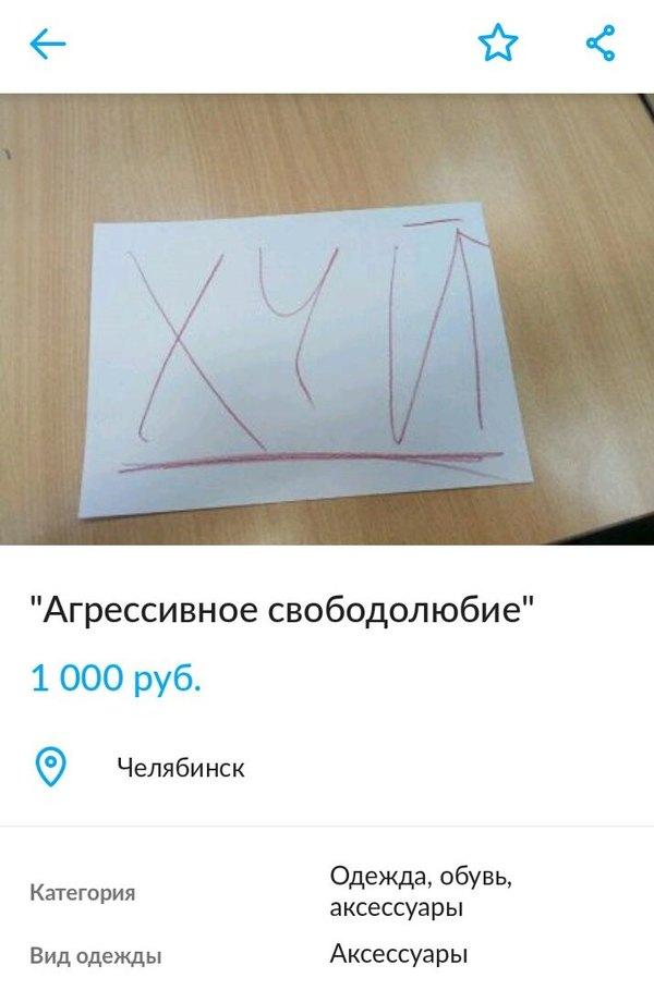 Товар года Авито, Объявление, Странности, Челябинск, Длиннопост, Мат