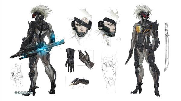 Raiden арт, Metal Gear Solid, Игры, длиннопост
