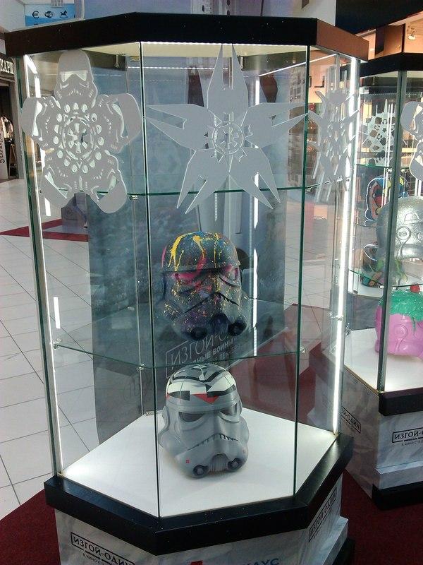 SW street-арт Star wars, Звездные войны: изгой один, Торговый центр, Инсталляция, Длиннопост
