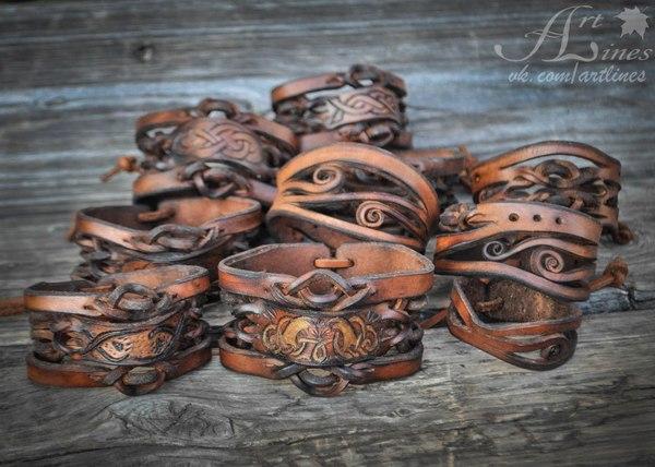 Производство браслетов из кожи