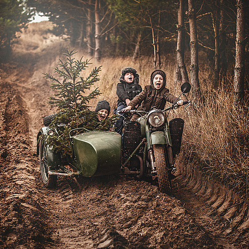 приколы на Мотоциклах Урал #11