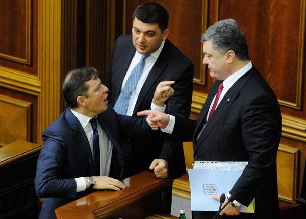 Охрана Порошенко сняла с Ляшко часы перед встречей с Порошенко Политика, Украина, Шпион, Порошенко, Ляшко, Онищенко, Чясы