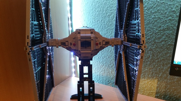 Перешёл на темную сторону Lego, Star Wars, Tie Fighter, LEGO Star Wars 75095, Длиннопост