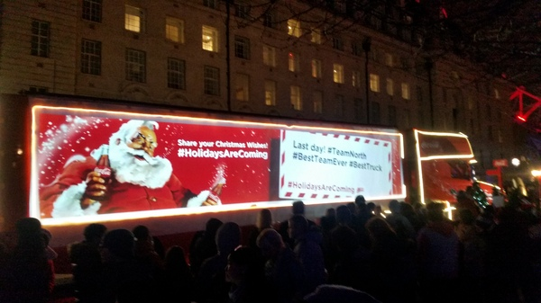 Праздник к нам приходит. Coca-Cola, Праздник к нам приходит!, Как в той рекламе, Лондон