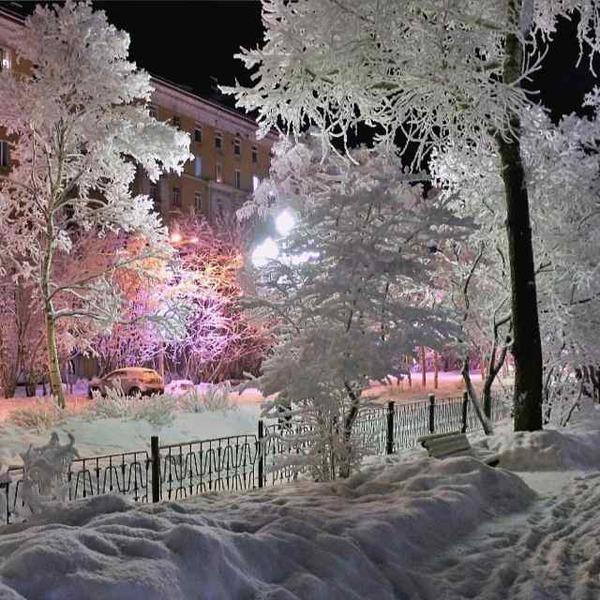 Г. Нижнекамск Нижнекамск, Зима