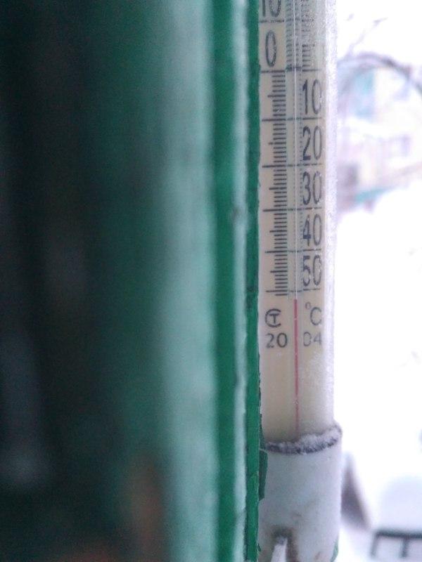 Когда термометра не хватает. Мороз, Ноябрьск, Сегодня нужно на улицу