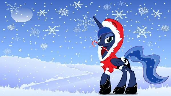 Christmas Luna