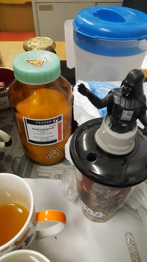 Сахар настоящих Ситхов Star wars, Лабораторная работа