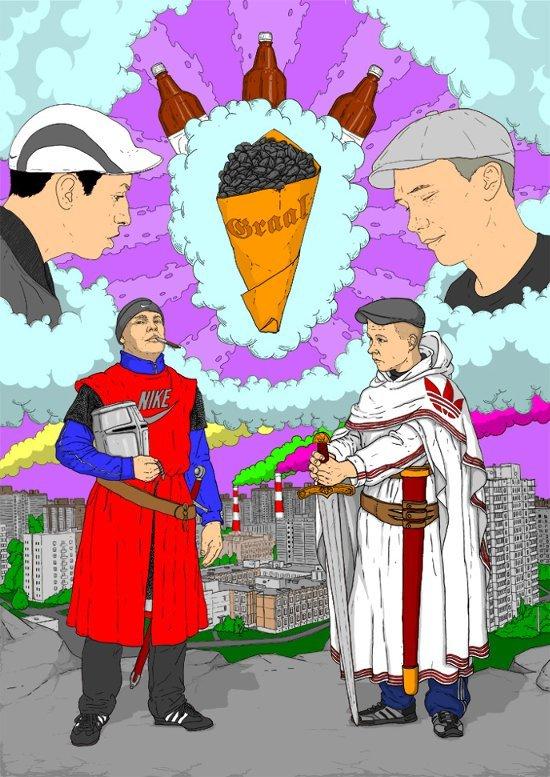 На волне историй про гопников Гопники, История, Взгляд изнутри, Неожиданная концовка