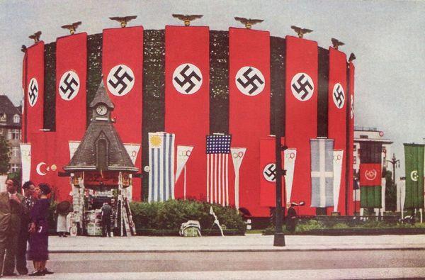 Олимпийские игры в Германии 1936 года Берлин 1936, олимпиада, Копипаста, видео, длиннопост