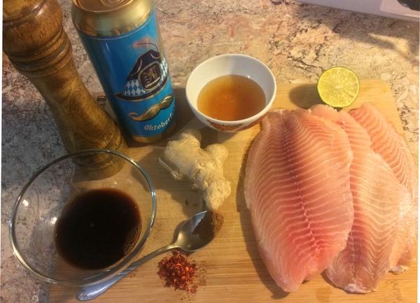 Рыба в пивной глазури..вандализм.. Длиннопост, Рецепт, Еда, Рыба, Пиво, МИФИ, NuclearCookery