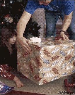 Слишком шустрый подарок