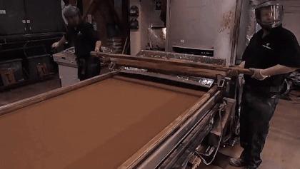 Традиционный метод изготовления листового свинца