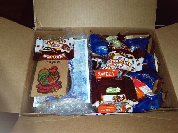 Вот и пришел мой подарок 2. Новогодний обмен подарками, Новый год, Посылка, Сюрприз, Длиннопост