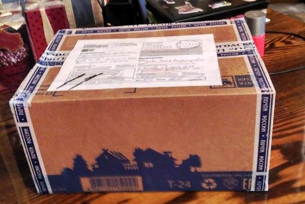 Моя посылка-подарок из Великого Устюга) Забрала, наконец тайный Санта, тайный санта 2017, Акция Пикабу Тайный Санта, анонимный Дед Мороз, подарок, почта, Посылка, длиннопост