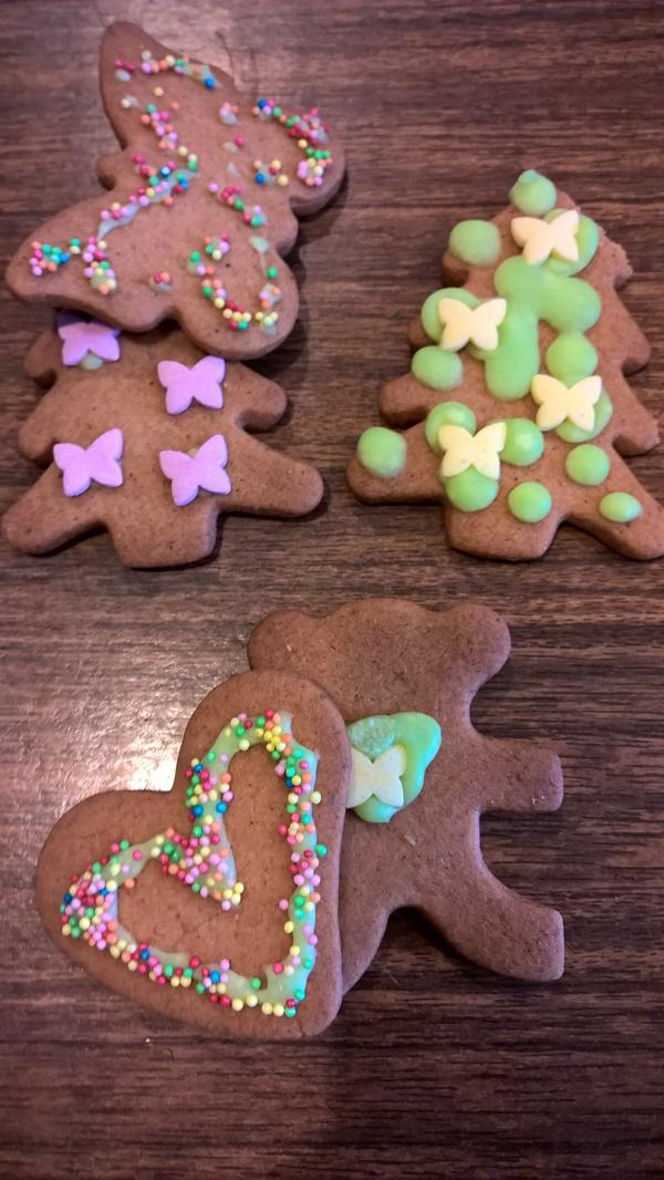 Печеньки домашние...подарили Педобиридётнапомощь, Выпечка