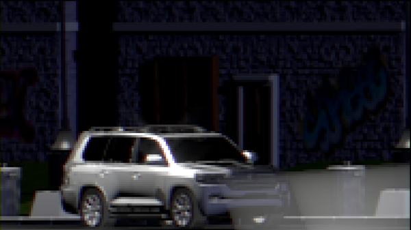 Pixel Land Cruiser Pixel art, Blender, Coub