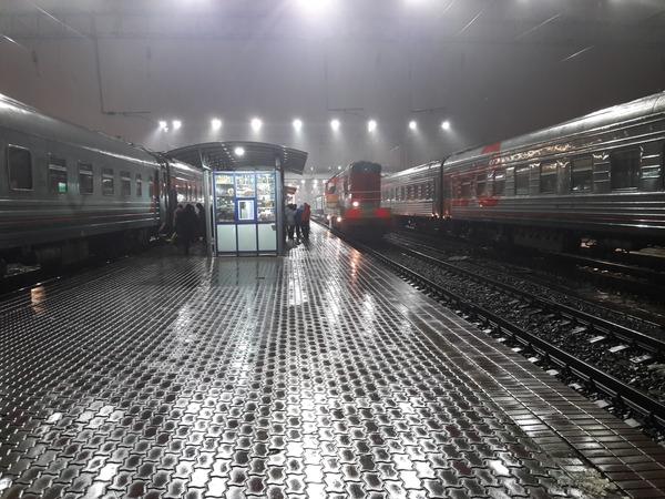 Перрон Железная Дорога, Перрон, Поезд, Ростов-На-Дону