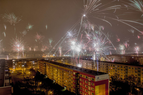 Панельная романтика на Новый Год из Ростока
