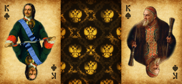 Моя карточная колода Игральные карты, Карты, Россия, Русский стиль