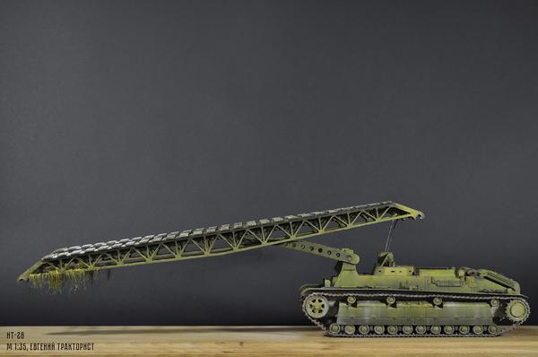 ИТ-28(инженерный танк) - часть 2 Ит-28, Моделизм, Танки, Длиннопост, т-28, СССР