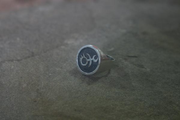 Новое кольцо из вселенной, в которой есть лишь война. Ручная работа, Кольцо, Пайка, Warhammer 40k, Слаанеш, Хаос