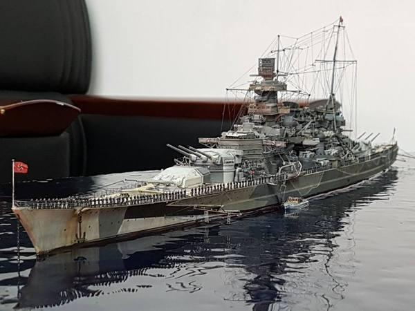 Уровень моделирования -  детализация морской воды моделизм, стендовый моделизм, Корабль, Германия, вода, не мое