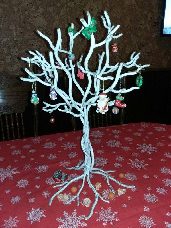 Рождественское дерево Дерево, Ковка, Ручная работа, Макаров и сыновья, Ключница, Сварка, Длиннопост