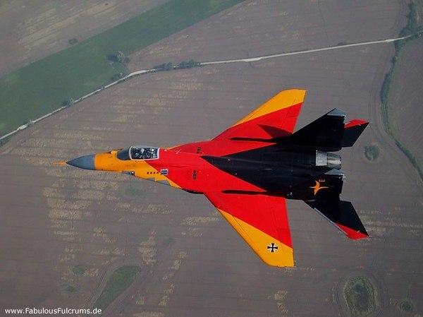 Миг-29 ВВС Германии Миг-29, ГДР, Германия, Авиация, Фото, ВВС, длиннопост