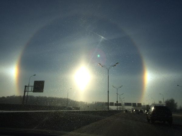 Гало Гало, Явление, Москва, Мороз