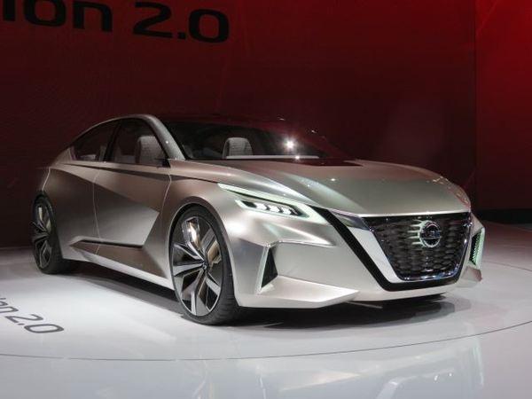 Nissan Vmotion 2.0 Concept авто, nissan, концепт, машина, длиннопост