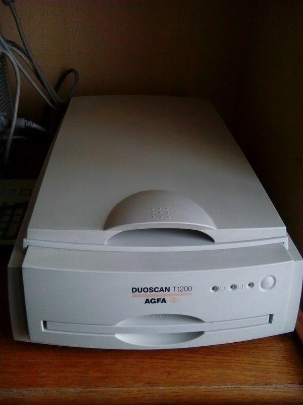 Подключение SCSI сканера Ремонт техники, SCSI, Сканер, Mac, Длиннопост