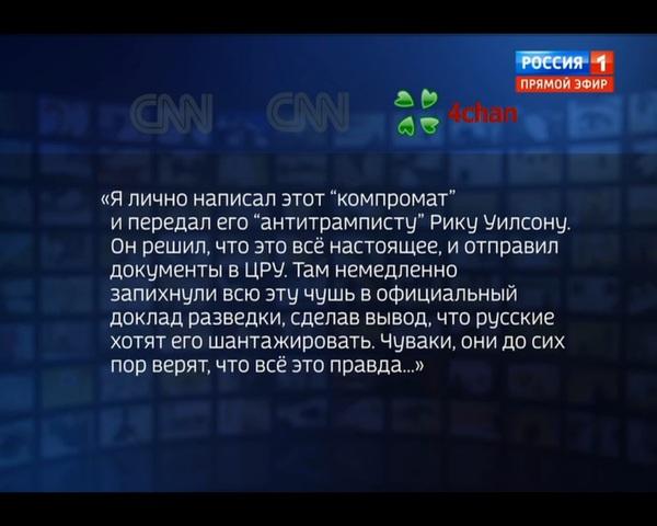 Вести 1 ссылается на имиджборды в своих передачах Прямой эфир, Вести, Новости, Политика, США и Россия, Бред, США, 4chan