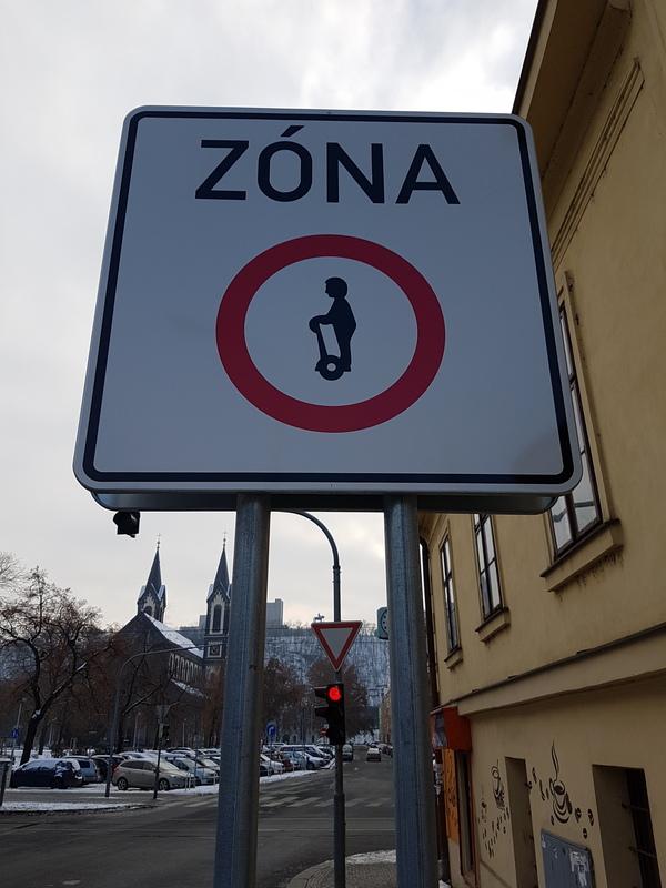 На сигвее нельзя! Сегвей, Запрет, Прага, Чехия