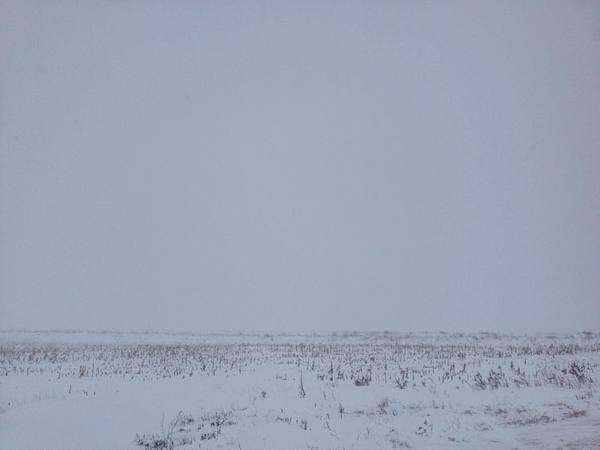 Там где земля и небо сошлись Поле, Снег, Край света, Фото, Моё