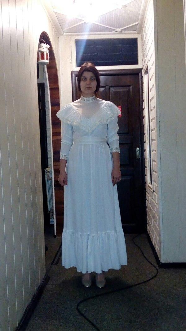 Подгон от бабушки. платье, Привидение, бабушка