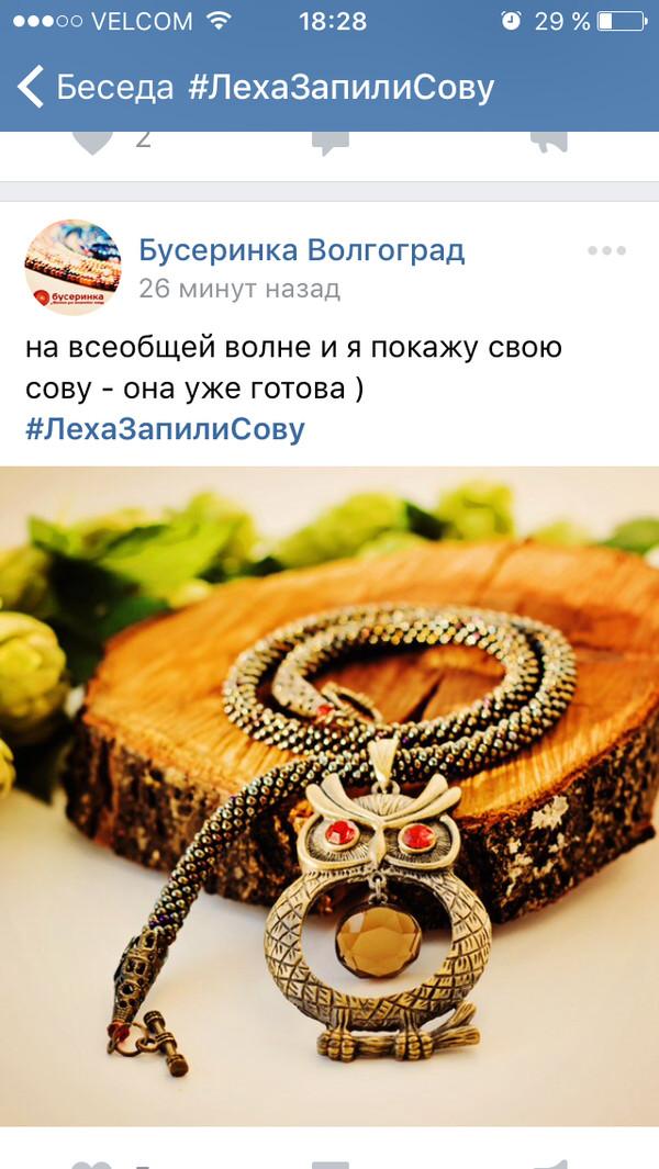 ЛехаЗапилиСову mannhjort, сова, сила пикабу, Леха запили сову, ВКонтакте, длиннопост