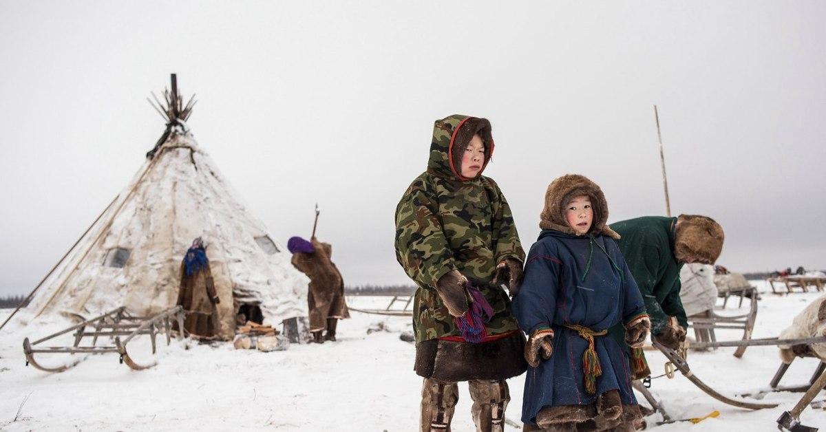 николаевич фото оленевода с семьей пальце