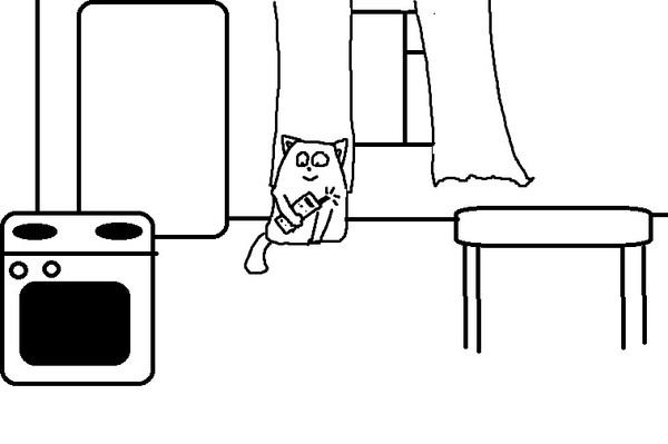 Kesha blyat` comics 9 Кеша и демоны, Кот, комиксы, длиннопост