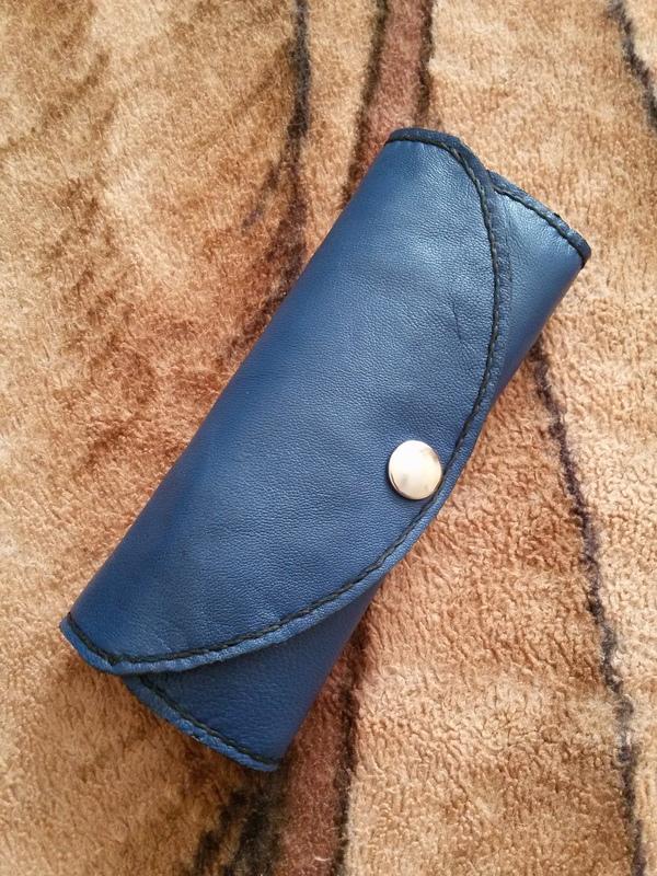 Две карманные ключницы - первый опыт Ручная работа, Кожевенное ремесло, Первый опыт, Ключница, Длиннопост